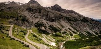 Дорога в Италии (The Stelvio Pass)
