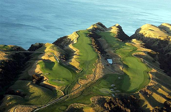 auri Cliffs. Северный остров, Новая Зеландия, гольф, путешествия