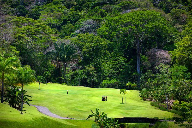 Гольф-поле, La Iguana, Marriott Los Suenos Resort, Лос Суэнос, Коста-Рика, гольф, отель путешествия
