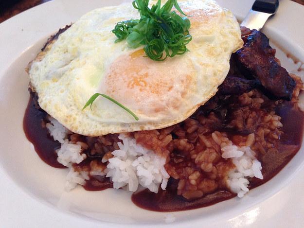 Локо Моко, гавайская кухня, блюда