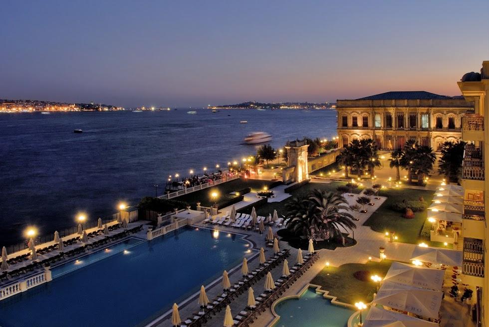 Ciragan Palace Hotel Kempinski, Стамбул, Турция, отель