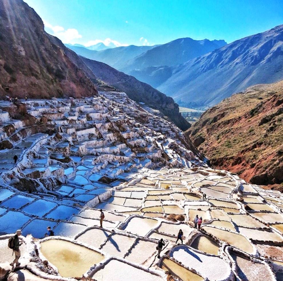 Соляные копи, Мараш, Перу, путешествия