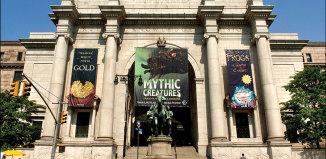 Музей естественной истории (American Museum of Natural History) в Нью-Йорке, США
