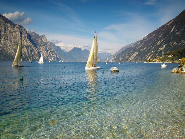 Озеро, Гарда, Италия