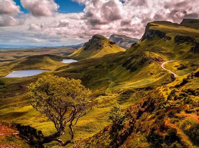 Остров Скай, Шотландия, путешествия