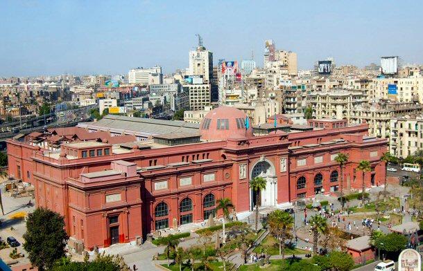 Египетский музей в Каире (Египет)