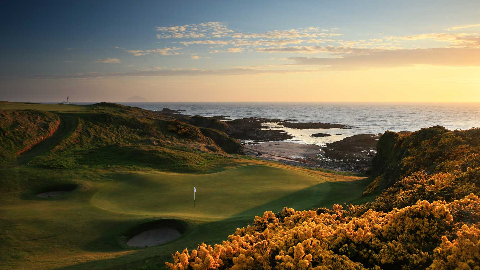 The Kintyre Championship 72-par course, Trump Turnberry Resort, гольф, путешествия