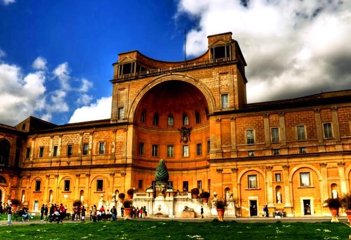 Музеи Ватикана (Vatican Museum) Рим, Италия