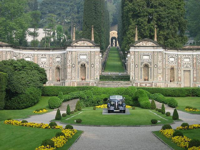 Villa d'Este, отель, Италия, Комо, путешествия, озеро