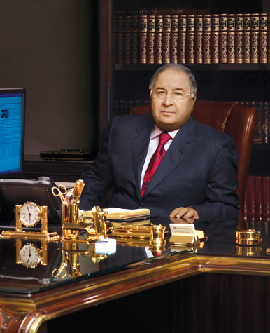 Алишер Бурханович Усманов. Фото: USM Holdings