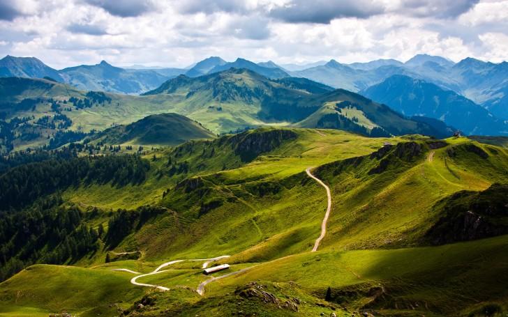 Австрийская горная дорога