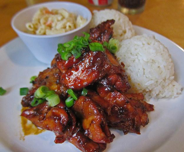 Курица Хали Хали,  гавайская кухня, блюда
