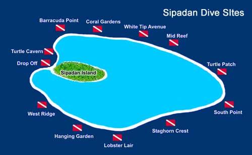 Сипадан карта, Малайзия