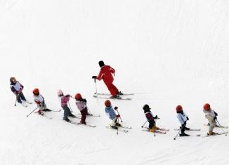 Горные лыжи: дети