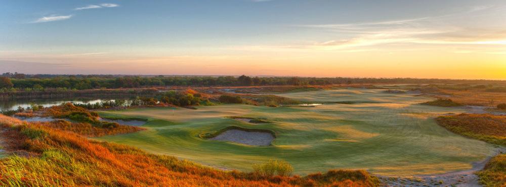 Поле для гольфа, гольф, Streamsong Blue, Streamsong, Флорида, США