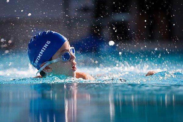 Плавание - спорт для детей