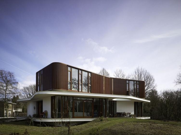 Вилла Нефкенс (Villa Nefkins), г. Вагенинген, Нидерланды