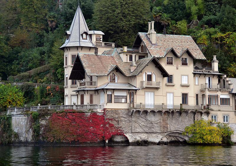 вилла Трубецкого, Комо, озеро, Италия
