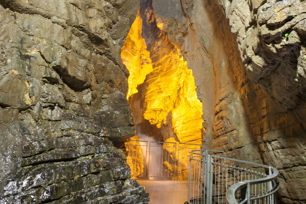 Водопад, Каската ди Вароне, Италия, путешествия