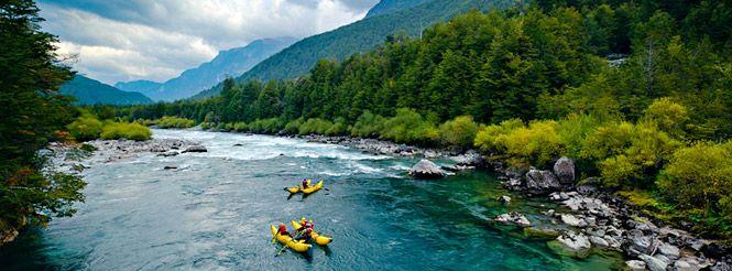Река, Футалеуфу, Южная америка