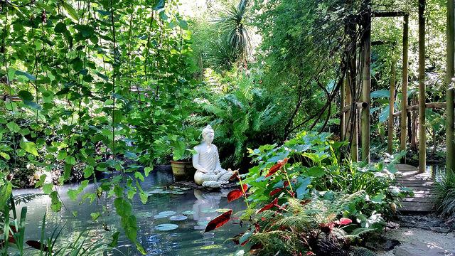 путешествия, ботанический сад Артуро Грушки. Гардоне-Ривьера, Италия
