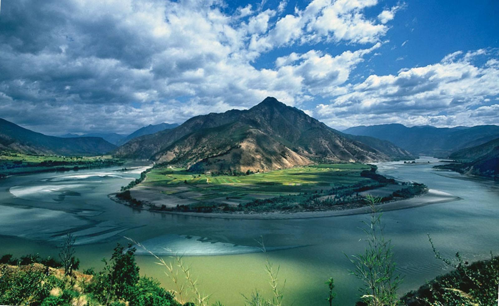 Янцзы,  Евразия, река