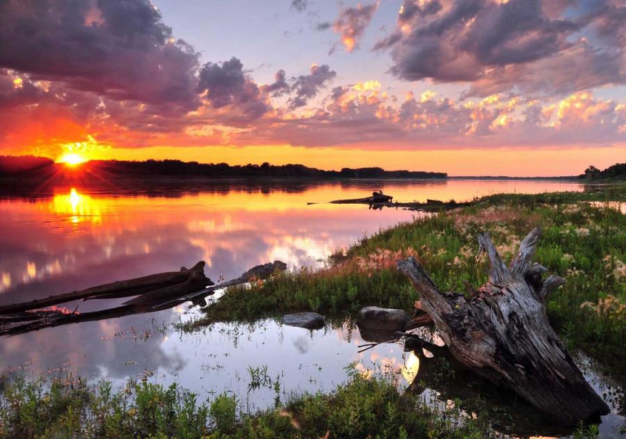 Миссури, США, река