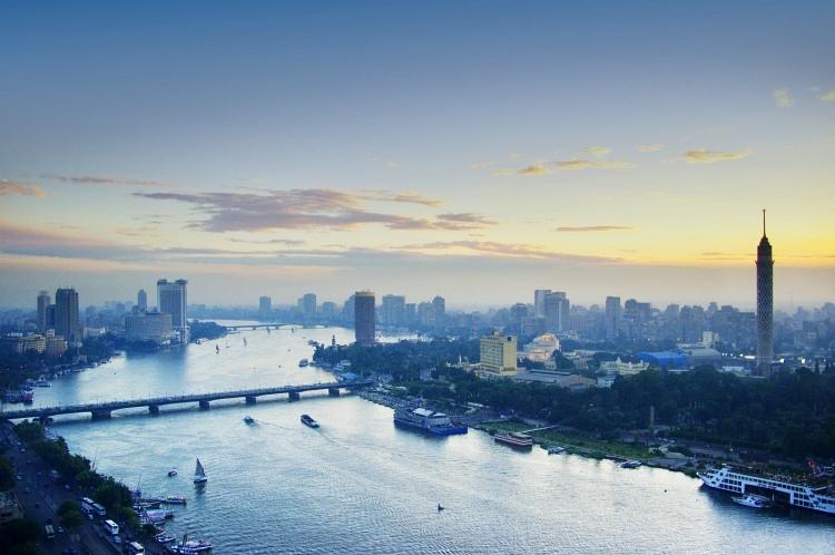 Нил, Каир, Египет, река