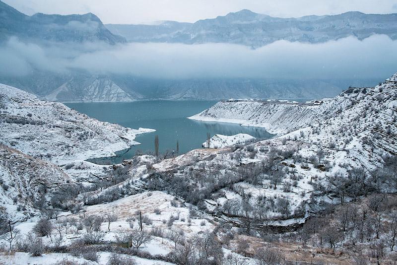 зима, Дагестан, путешествия