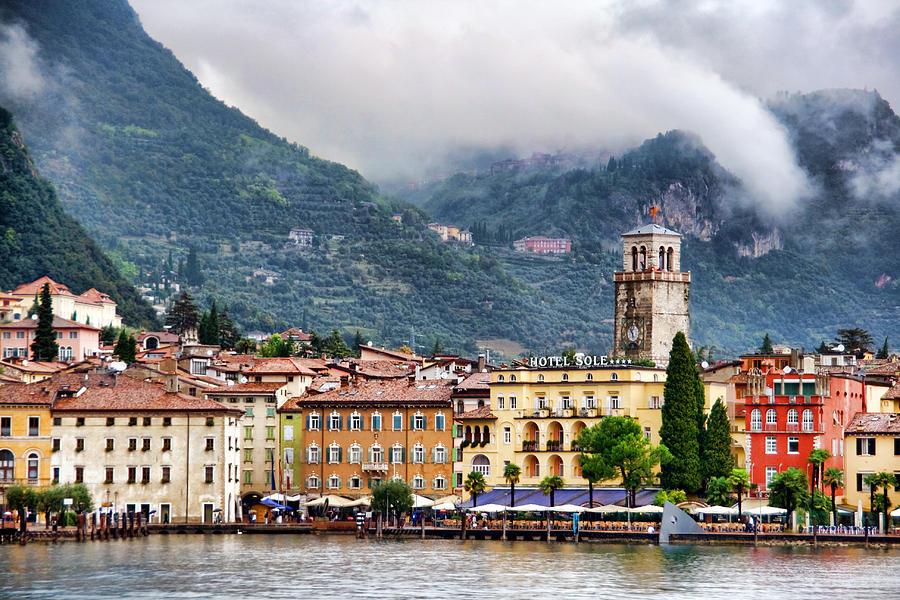 Рива-дель-Гарда, озеро, Гарда, Италия, путешествия