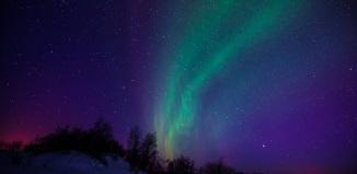 Северное сияние, Ямал