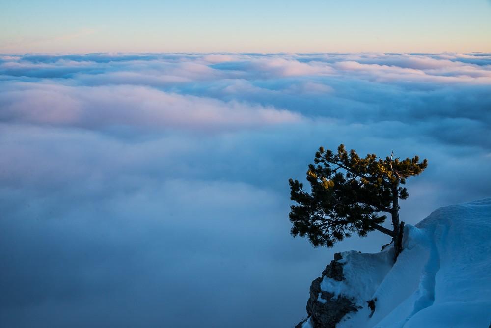 рассвет, горы, Крым, путешествия