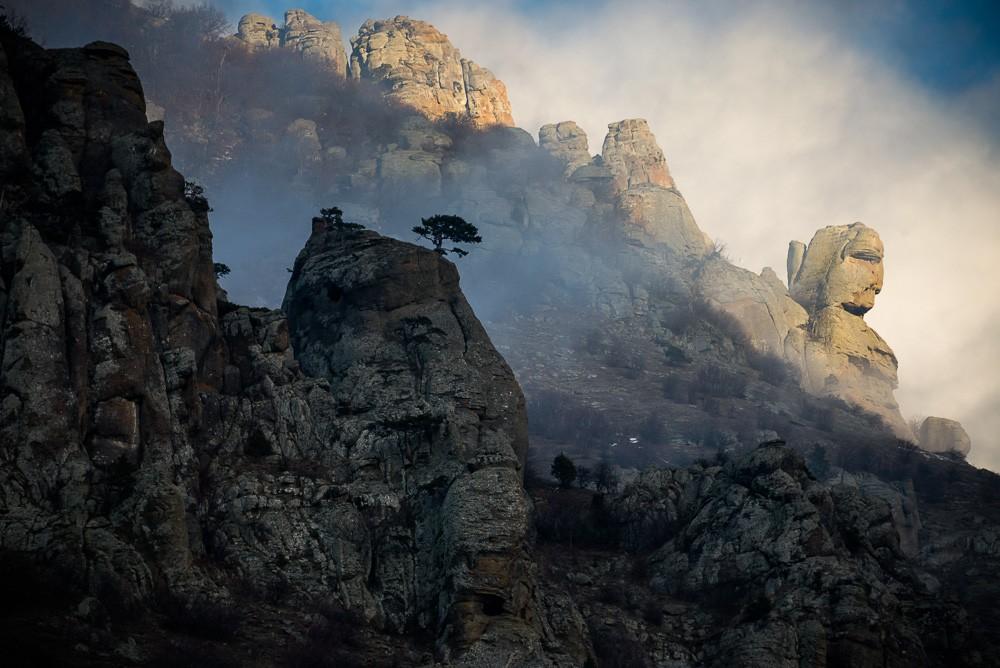 скалы, Димерджи, Крым, путешесвтия
