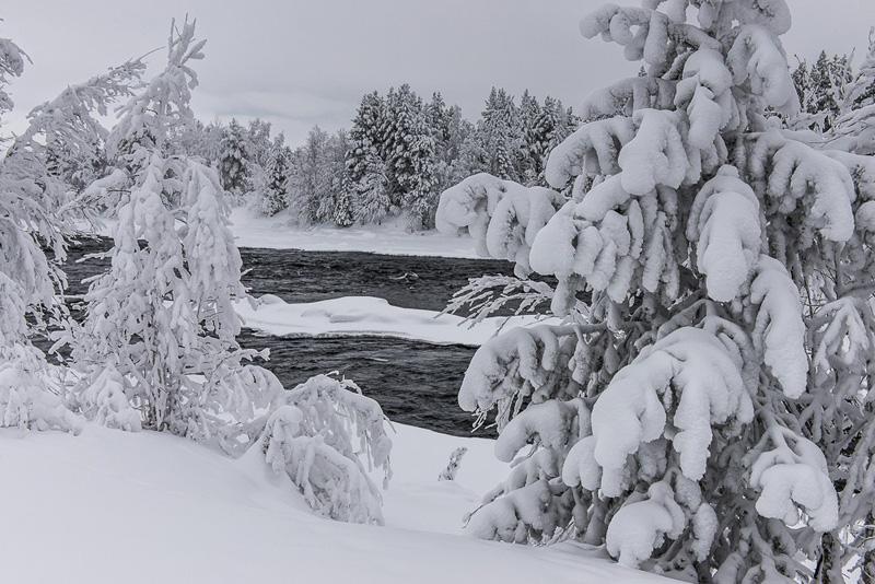 Зима, Кольский полуостров, путешествия