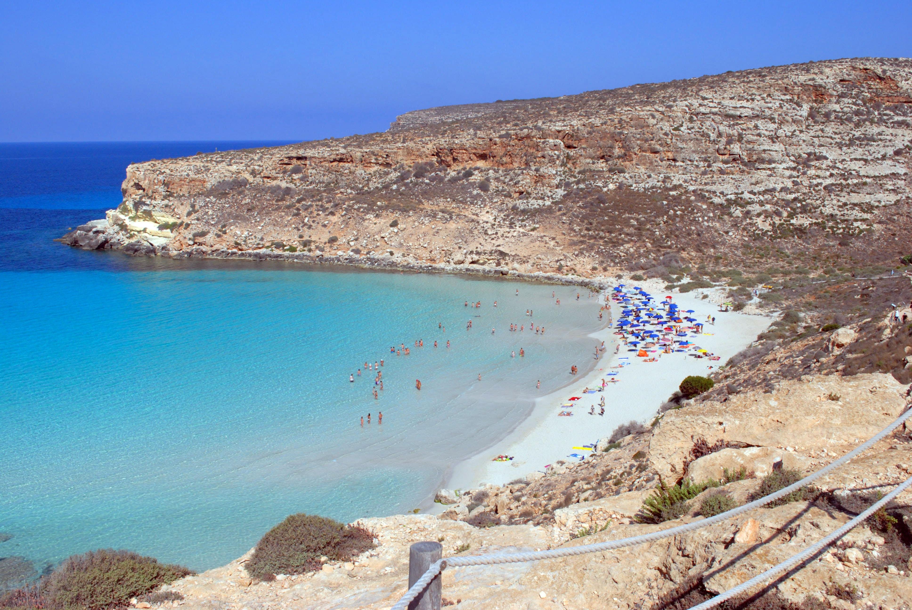 Пляж Байя де Конильи, Сицилия