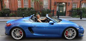 Porsche Boxster Spyder в Лондоне