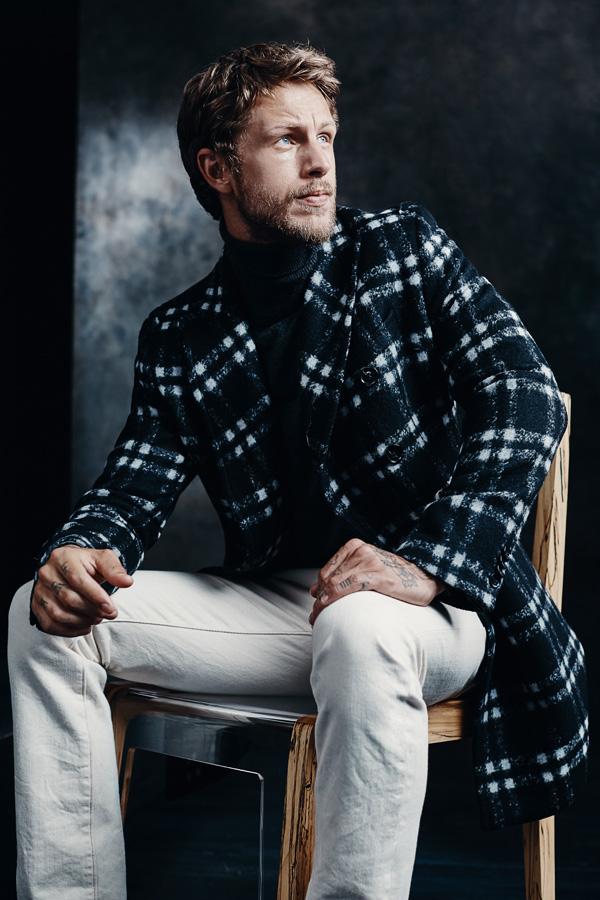 Образ из капсульной коллекцию мужской одежды для Cadillac, Фото: Cadillac