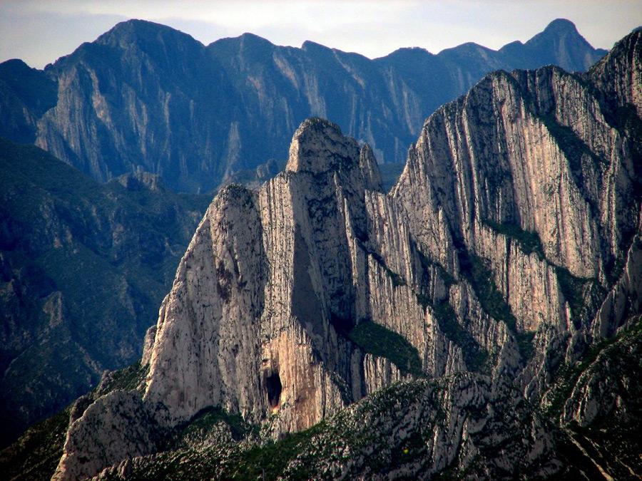 Скалы в Мексике
