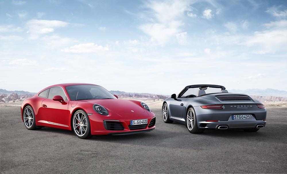 Porsche Carrera 2015