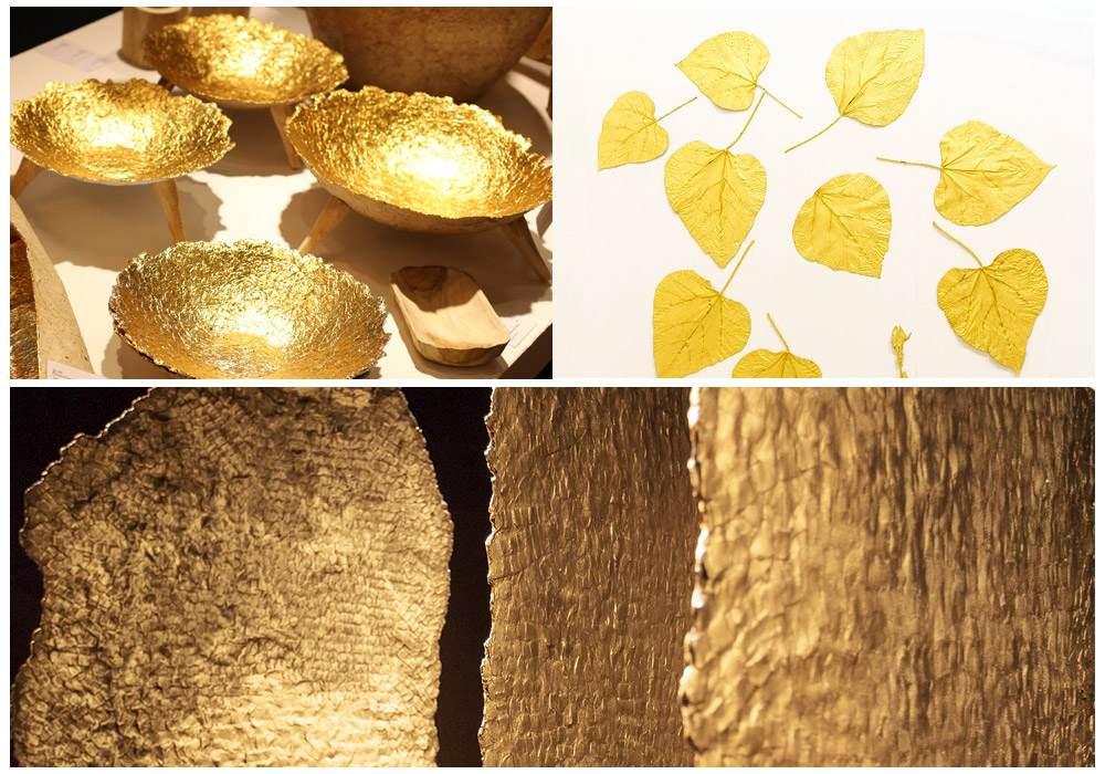 Золотой цвет в интерьере