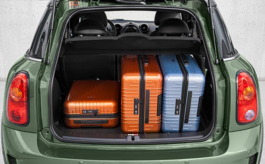 Багажник Countryman с чемоданами