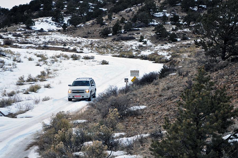 Chevrolet Tahoe в Колорадо