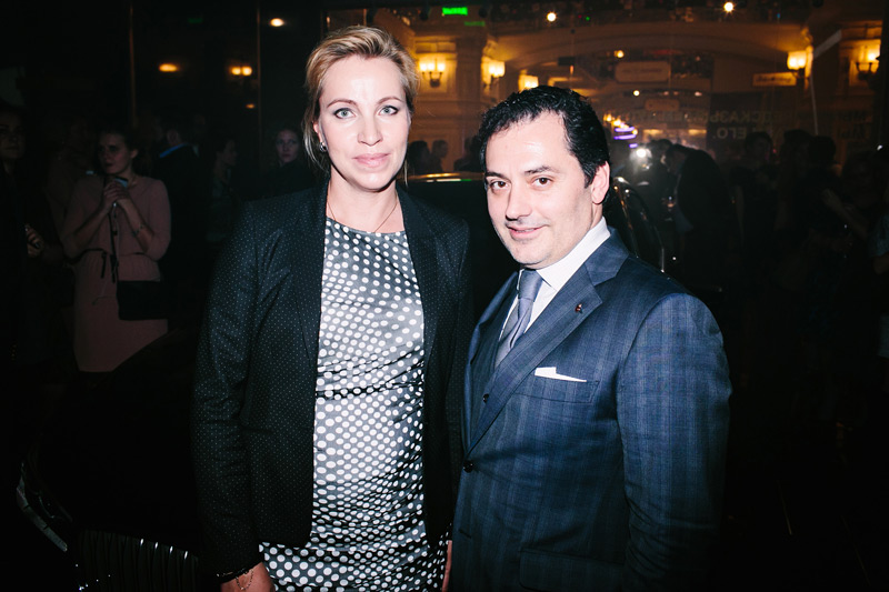 Elena Smirnova (BMW) & Timur Guguberidze (GUM)
