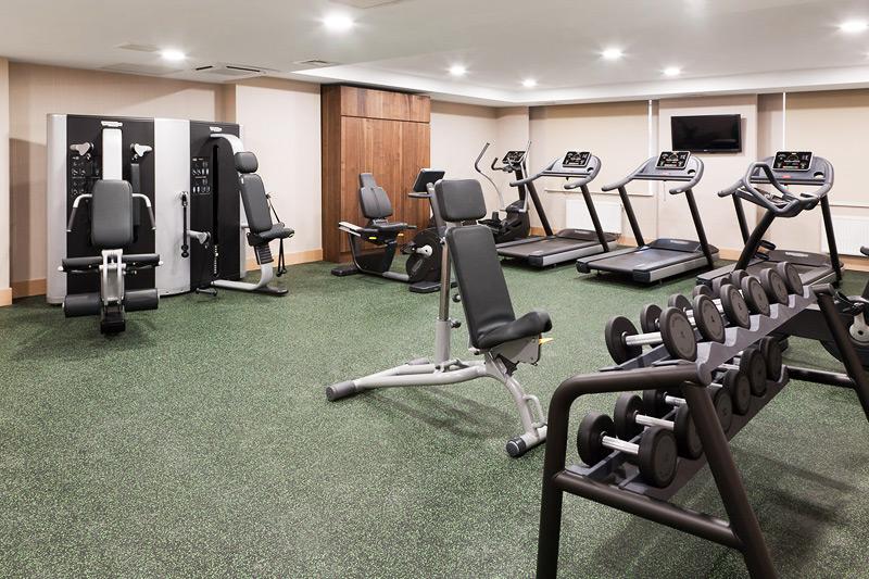 Тренажерный зал в отеле Dedeman Park