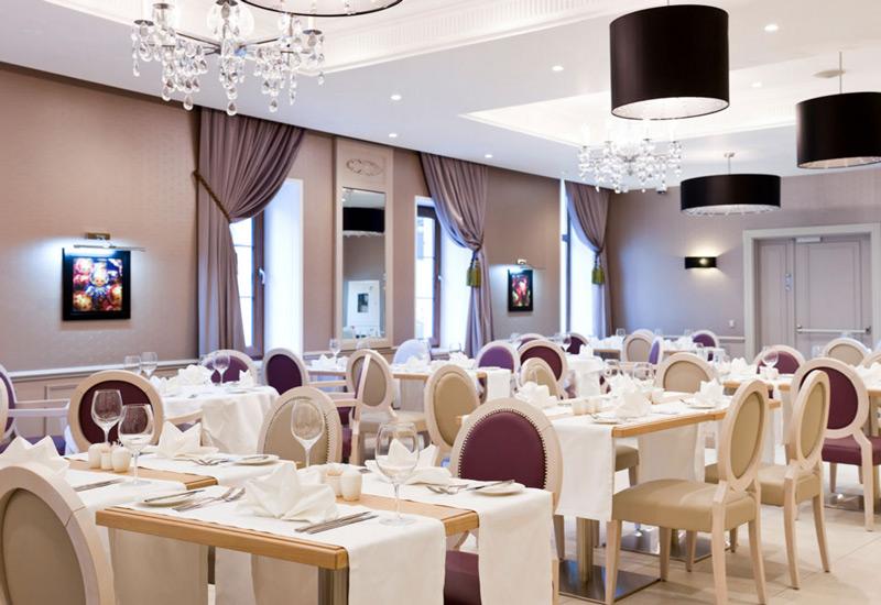 Ресторан в четырехзвездочном отеле Mercure Arbat