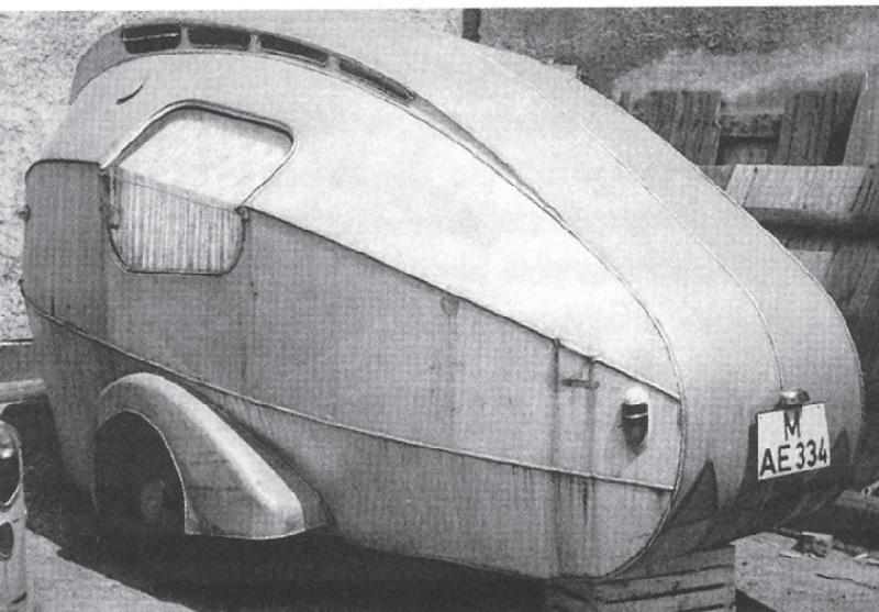 """Прототип прицепа с кузовом """"Капля"""""""