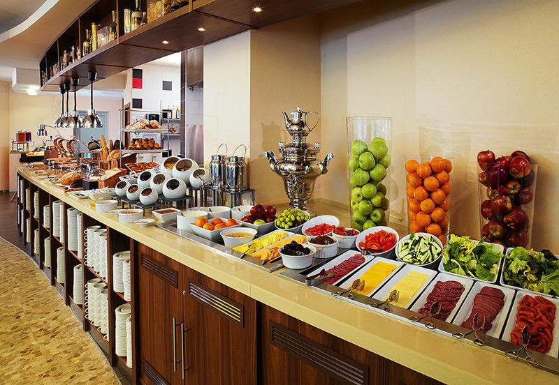 Завтрак в Marriott Павелецкая
