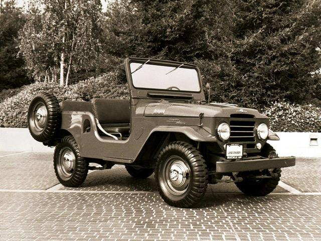 Тойота Ленд Крузер BJ20