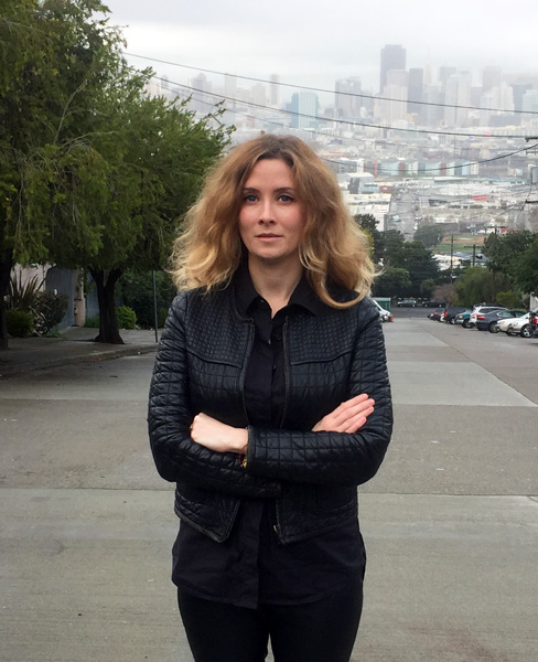 Ольга Исламкина в Сан-Франциско