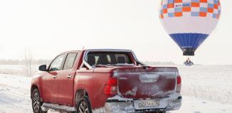 Toyota Hilux и рекорд Конюхова